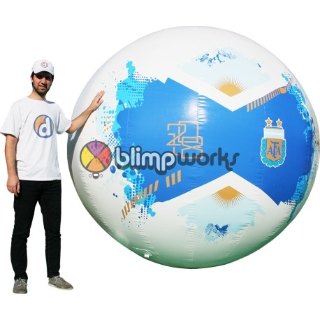 Inflatable YPF Soccer Ball