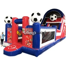 Inflatable Soccer Slide
