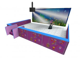 Ball Pit with Interactive Screen (SMALL)