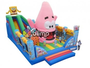 Premium + Uniques, Bob Esponja Boca Tragona, The Inflatable Depot