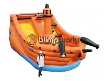 Slides, Pirate Ship Slide, BE Bounce Houses