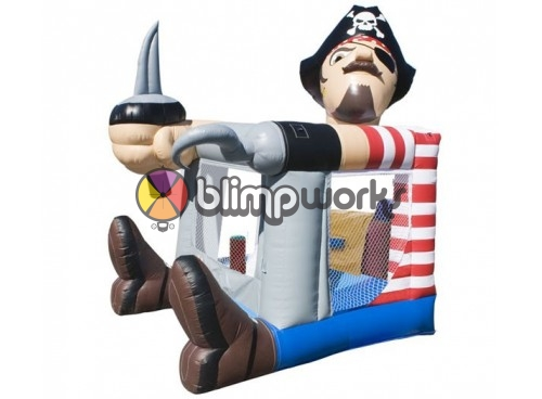 Foot Bouncer Pirate Medium