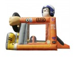 Bouncer Slide Combos, Foot Bouncer Racer Medium, The Inflatable Depot