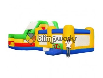 Bouncer Slide Combos, Combo Maze I,