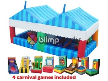 Kermesse Games, carnival Tent, BE Bounce Houses