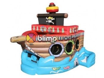 Bouncer Slide Combos, Fun Pirate Ship Combo, BE Bounce Houses