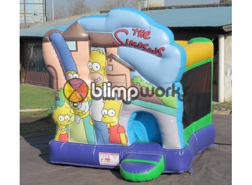 Los Simpsons Bouncer Con Tobogan