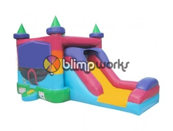 Bouncer Slide Combos, Be Castle Combo Large, BE Bounce Houses