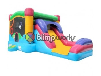 Bouncer Slide Combos, Be Colorful Combo Medium, BE Bounce Houses