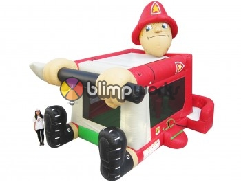 Foot Bouncer Fireman