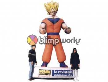 Inflatable Dragon Ball Z