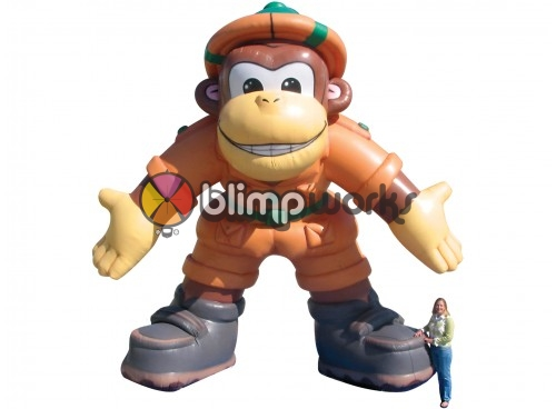 Inflatable Safari Monkey