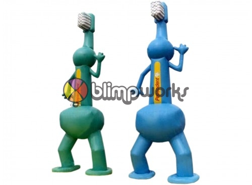 Inflatable Twin Brushes