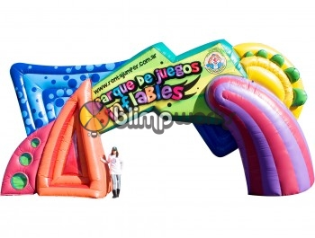 Inflatable Park Gateway