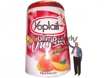 Inflatable Yoplait Cup