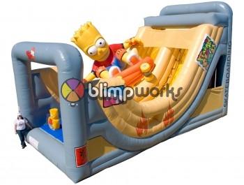 Inflatable Bart Skater