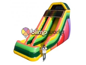 Inflatable Slides, 20' EZ Single Lane Slide, The Inflatable Depot