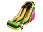 Inflatable Slides, 20' EZ Single Lane Slide, The Inflatable Depot