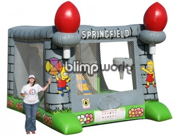 Inflatable Springfield Bouncer