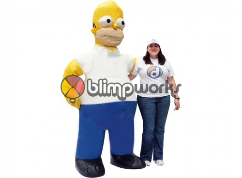 Inflatable Homer