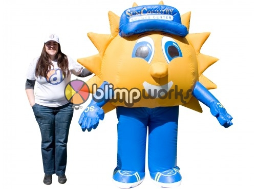 Inflatable Walking Sun