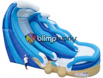 26' Double Water Slide