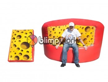 Inflatable Cheese Sofa