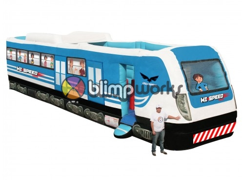Inflatable High-Speed Train