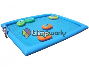 Inflatable pool & bumper boats