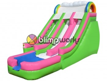 Inflatable Rainbow Slide