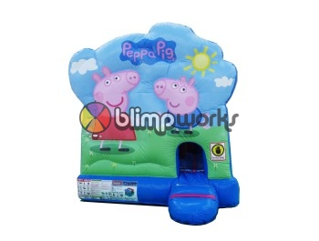 Peppa Pig Bouncer con Tobogan