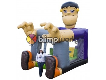 Sin Fotos Depot, Foot Bouncer Frankie, The Inflatable Depot