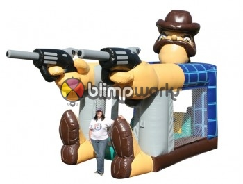 Bouncer Slide Combos, Foot Bouncer Sheriff, The Inflatable Depot