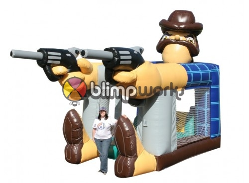 Foot Bouncer Sheriff
