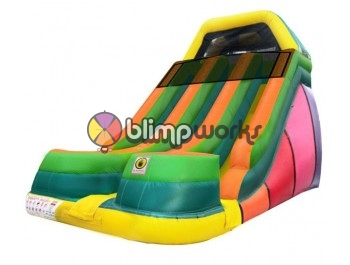 Inflatable Slides, 18' EZ Dual Lane Slide, The Inflatable Depot