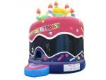 Bounce Houses, Birthday Cake,