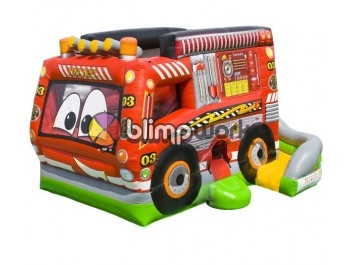 Bouncer Slide Combos, Fire Truck Combo,