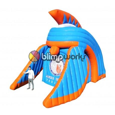 Inflatable Trojan Helmet