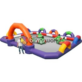 Inflatable Bumper Cars Track
