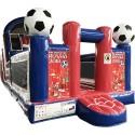 Inflatable Soccer Slide