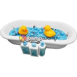 INFLATABLE GIANT BATHTUB