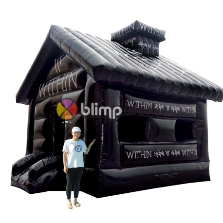 Inflatable WITHIN bounce house