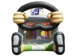 Bouncer Slide Combos, Foot Bouncer Racer Medium, The Inflatable Depot