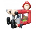 Bouncer Slide Combos, Foot Bouncer Fireman Medium, BE Bounce Houses