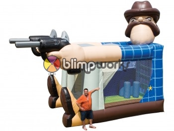 Foot Bouncer Sheriff ST
