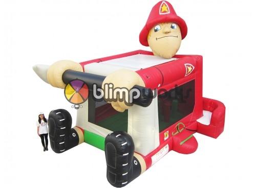 Foot Bouncer Fireman