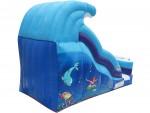 18' Single Lane Aquatic Slide
