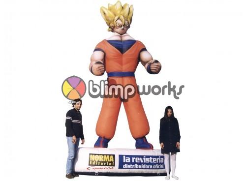Inflatable Dragon Ball Z