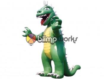 Inflatable Godzilla