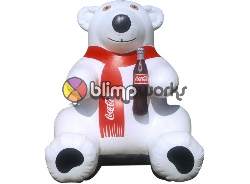 Inflatable Polar Bear